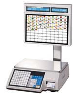 Торговые весы CL5000J-S I (TCP/IP) дополнительный графический дисплей