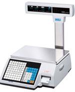 Торговые весы CL5000-P (TCP/IP) со стойкой