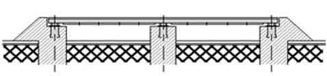Автомобильные фундаментные весы Мидл 30-80 тонн