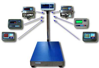 Весы Гулливер 2 с возможностью смены подключаемого терминала для отображения информации