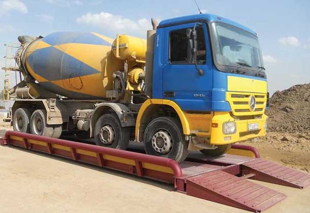 весовой контроль грузовых автомобилей