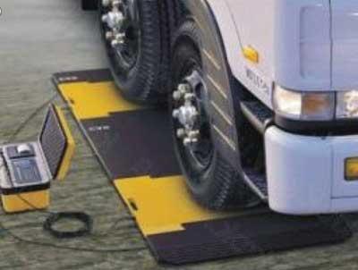 передвижной пункт взвешивания грузовых авто
