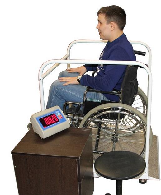 Весы Здоровье 300 ВДА для инвалидов